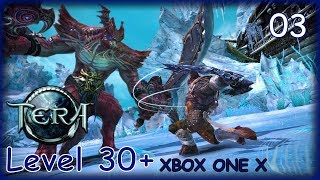 TERA ONLINE Gameplay Walkthrough Part 3 LEVEL 30-35 Xbox One X (No Commentary)