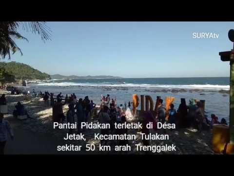 Pidakan, Pantai di Pacitan yang Terunik se-Dunia!