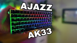 The Most Popular RGB Mechanical Keyboard? - Ajazz AK33