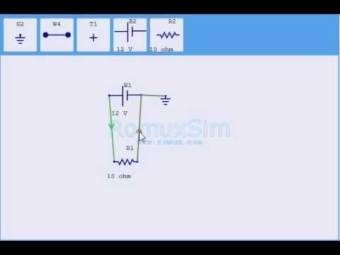 web based electronics circuit simulator romuxsim youtube