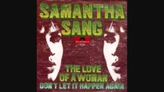 Samantha Sang - The Love of a Woman