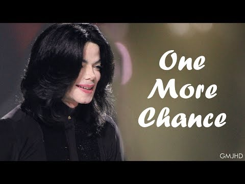 Michael Jackson  One More Chance  Birthday Special Mix  GMJHD