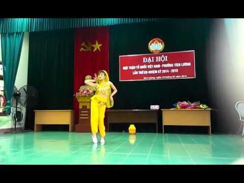 Múa vũ khúc ánh trăng Dương Thoa hóa A_k46 DHSPTN
