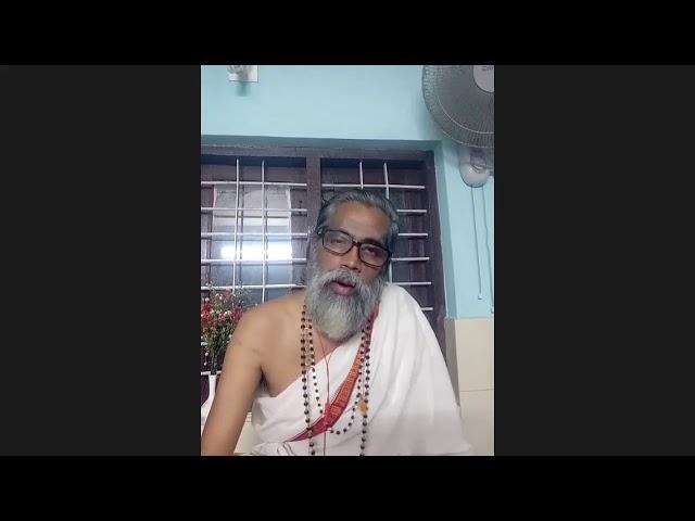 Samaveda Rathnam Dr Sivakaran Nambuthiri at Arsha yoga Satsang