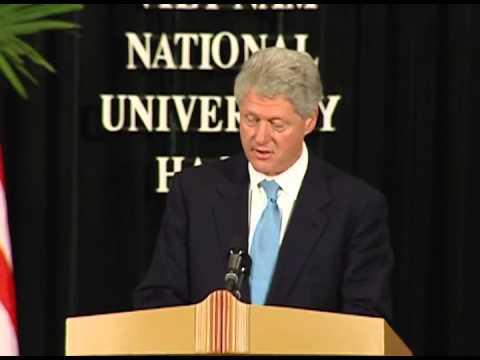 President Clinton's Speech at Vietnam Natl. Univ.