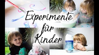 5 Experimente für Kinder mit Wow-Effekt: Oobleck selber machen, Vulkan, Wolke aus Rasierschaum