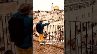 Mark instagram stories en Jerusalén.