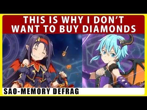 What's Inside My Japan Account & The Reason Why I'm Playing As F2P (SAO Memory Defrag)