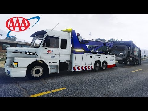 GTA 5 - Extreme Large Vehicle Towing