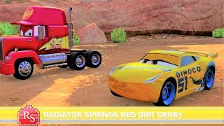 Cars 3: Driven to Win Battle Race - Radiator Springs Red Dirt Derby - Gameplay HD