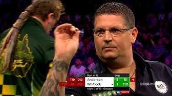 GLASGOW G. Anderson v S. Whitlock: Full Match | Thursday Night Darts | 10/9c on BBC America