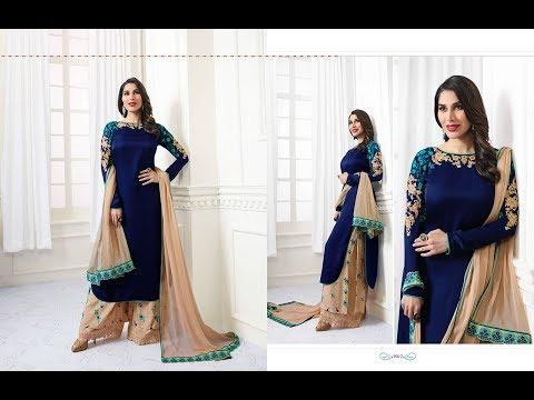 Latest Salwar Suits Indian Collection 2018 ||   Karma Trendz || Karma Trendz 9009-9014 series