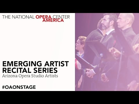 Emerging Artist Recital Series | Arizona Opera Studio Artists
