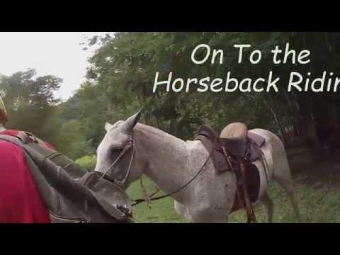 Costa Rica part 1 San Jose City Tour, ATV's, Horseback Riding & Water Rappelling