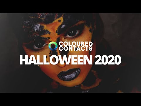 Get Ready For Halloween 2020 With Coloured Contacts
