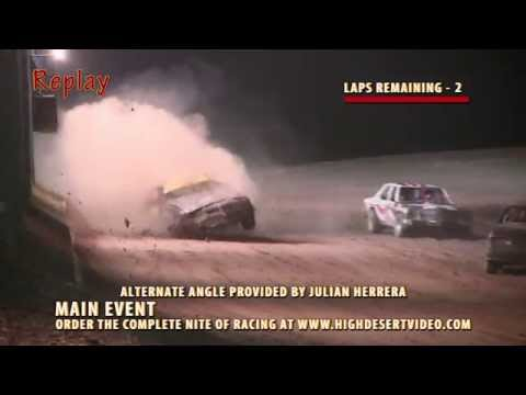 SNMS - July 12, 2014 Street Stock Flip