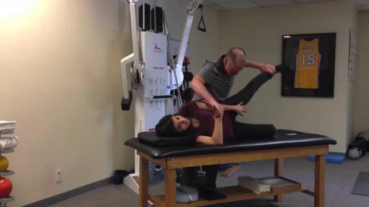 Janda Hip Abduction Test Dr Craig Liebenson Youtube