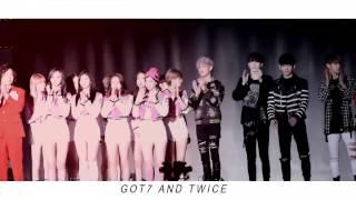 (fmv) Got7(갓세븐) and Twice(트와이스) | Melting  (Gottwice)