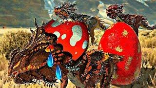 Família do NOVO Velonasaur: Um Final Trágico! Dinossauros - Ark Extinction Evolved (PT/BR)