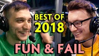 2018 MOST FUN and FAIL plays