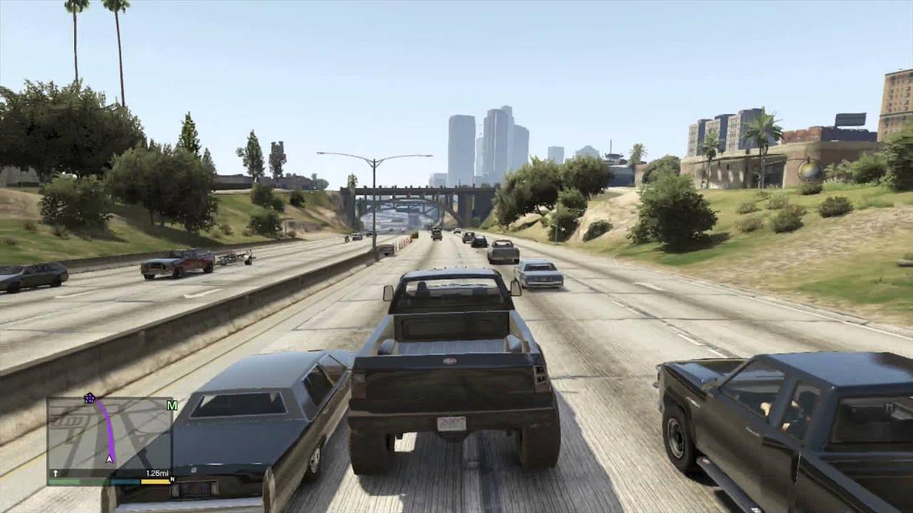 Lifted Truck in GTA5 - YouTube