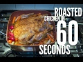 Roasted Chicken in 60 Seconds