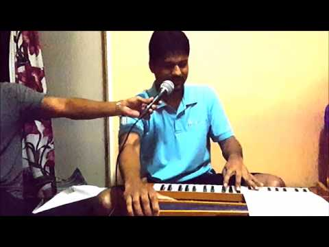 Rooth kar hum unhe bhool..Cover on harmonium by Fijian Jeet Kumar and Naal by Master Vim