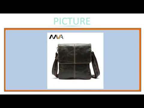 d3129e419248 MVA Genuine Leather Men Bag Fashion Leather Crossbody Bag Men Messenger  Bags Casual Shoulde