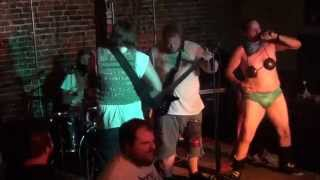 Eviscerated Zombie Tampon - Handlebar - Pensacola, FL - July 18 2014 - Funk as Puck