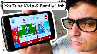 YouTube Kids e Google Family Link