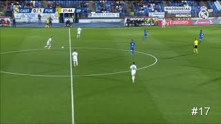 Cesar Gelabert vs Fuenlabrada - Real Madrid 'Castilla'  - All touches