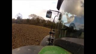 6210r and Lemken drilling cover crop