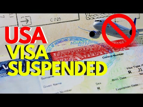 Coronavirus | USA consulate SUSPENDS Visas and CANCELS appoi