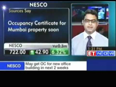 NESCO to get occupancy certificate for new building