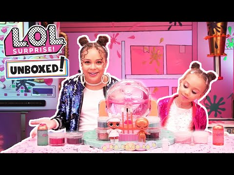 UNBOXED! |  LOL Surprise! | DIY Glitter Factory: Glitter is Life | Season 4 Episode 1
