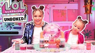 Unboxed! |  LOL Surprise | DIY Glitter Factory: Glitter is Life | Season 4 Episode 1 Videos For Kids