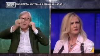 Sgarbi vs Costamagna su ristoratore di Lodi: