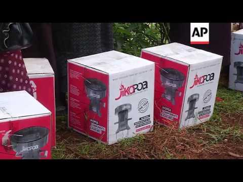 New wood burning stoves save lives in Kenya