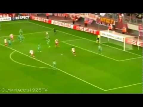 Olympiacos - Rubin Kazan 1-0 Highlights (23/2/2012)