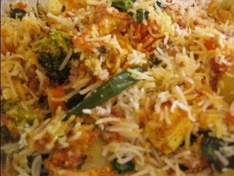 Vegetarian biryani how to cook vegetarian biryani youtube vegetarian biryani how to cook vegetarian biryani forumfinder Choice Image