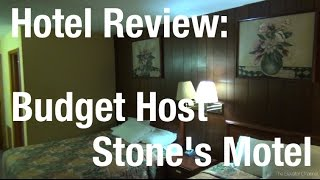 Hotel Review - 1960s Throwback at the Budget Host Stone
