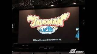 TalkMan (JP) Sony PSP Gameplay - TGS 2004: Video Wall Clip