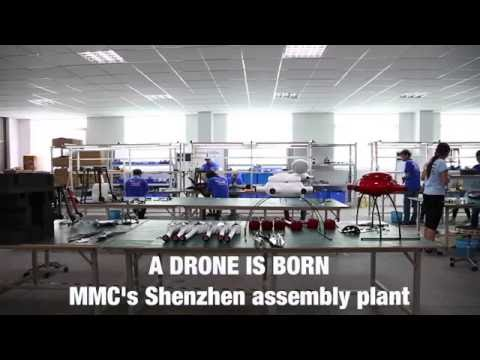 """""""CHINA DAILY"""" Lead You to Visit MMC Drone Factory The Headquarter R&D centers In China"""