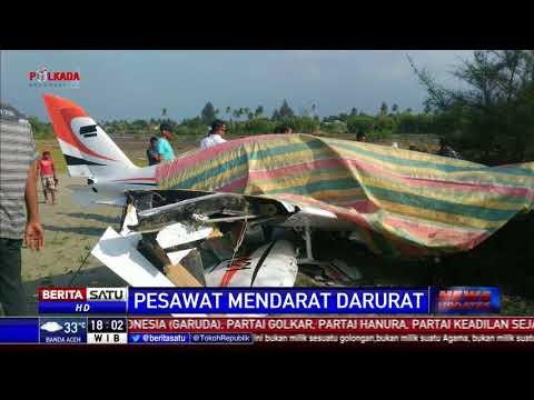 Pesawat Gubernur Aceh Mendarat Darurat karena Kerusakan Mesin