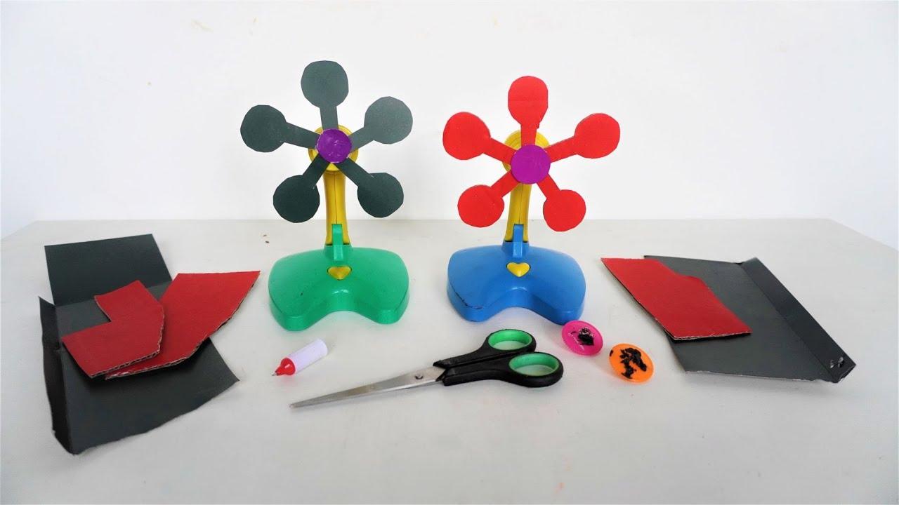 Berkreasi Membuat Baling Kipas Mainan dari Kertas Sampah