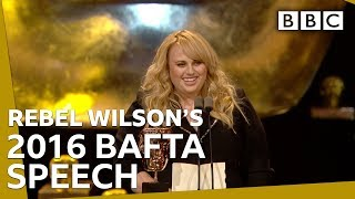 That time when Rebel Wilson first stunned the BAFTAs - BBC