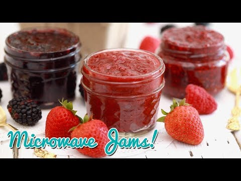 3-Ingredient Microwave Strawberry Jam (And More Flavors!)