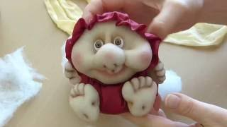 як зробити ляльку з капронових колготок відео для початківців