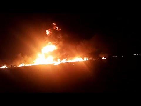 Al menos 66 muertos en una explosión en un oleoducto en México