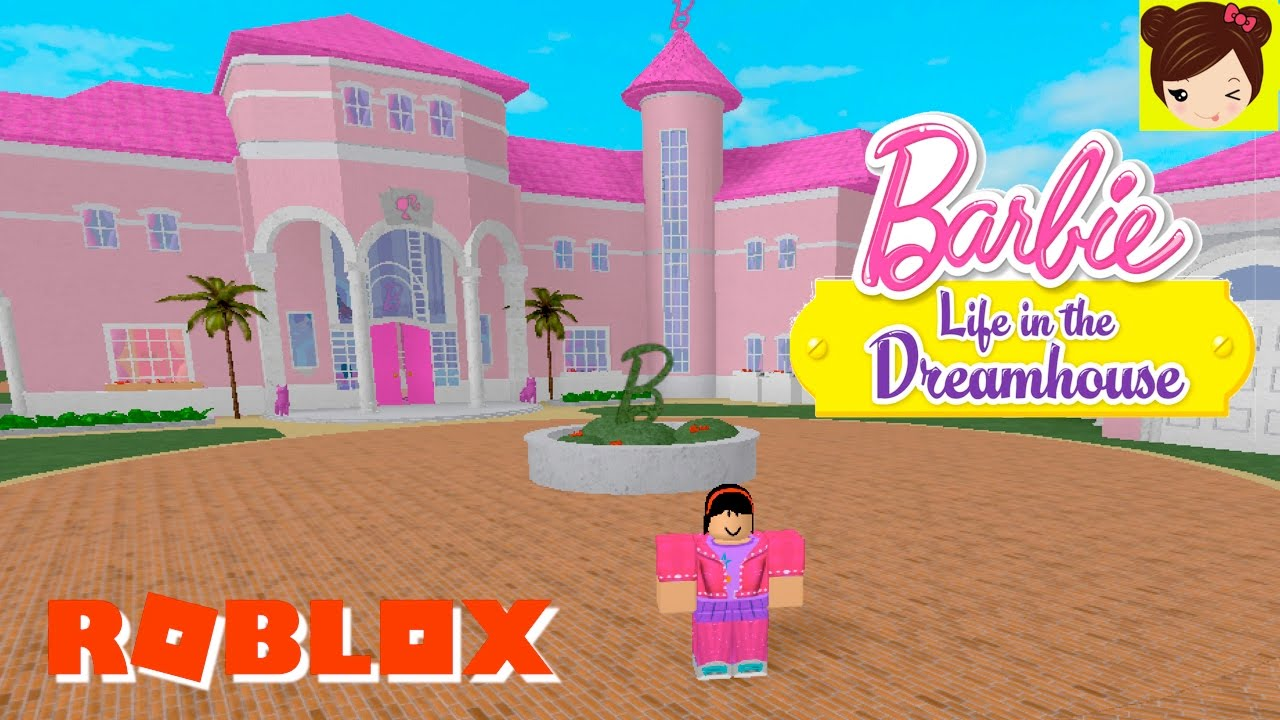 Jugando Roblox Tour De La Mansion De Barbie Piscina Casa De Ken Y